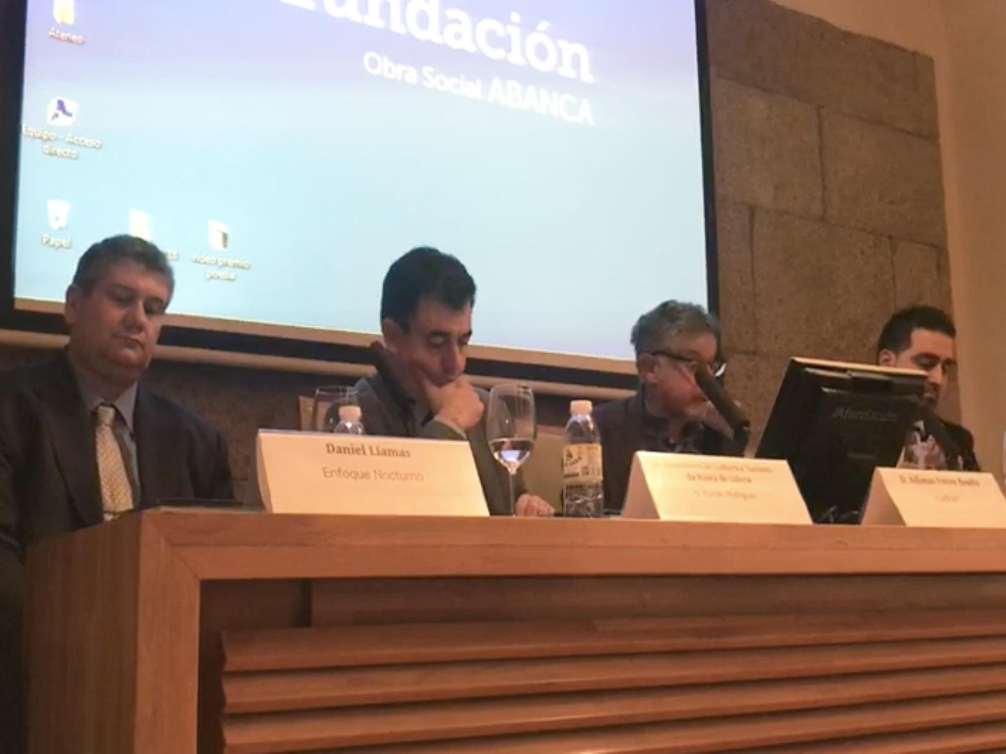 Presentación Libro en Afundación Santiago de Compostela